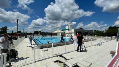 """La piscine """"Les Nautiles"""" ouvre son bassin extérieur"""