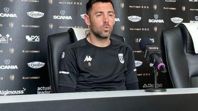 """Thomas Mangani : """"Continuer à se faire plaisir"""". Football. Ligue 1..."""
