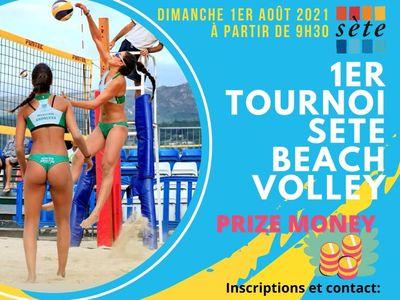 Sète beach volley 2021