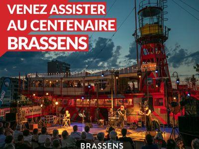 Venez assister au centenaire de Brassens sur le bateau Le Roquerols