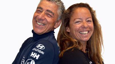 Voile : le skipper sablais Manuel Cousin présente son duo pour la...