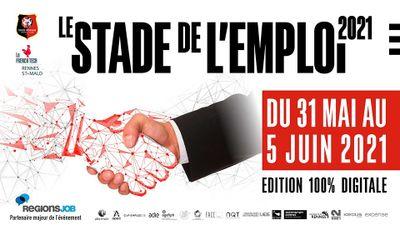 À Rennes, la 8e édition du Stade de l'emploi aura lieu du 31 mai au...