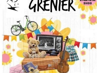 Brocante, Vide Grenier, Bourse à Guérande le 25 Juillet .