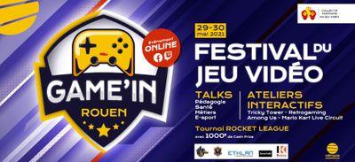 Game'In Rouen : Le premier festival du jeu vidéo se tiendra fin mai...