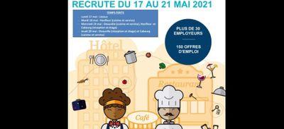 L'hôtellerie-restauration recrute toute la semaine en Pays d'Auge...