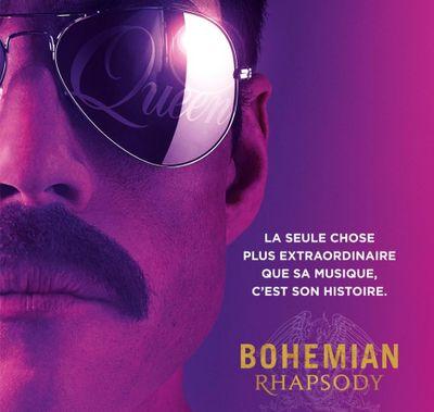 """Vos places pour l'Avant-Première de """"Bohemian Rapsody"""""""