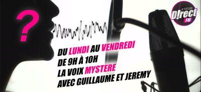 Cette semaine dans la voix Mystère de D!RECT FM