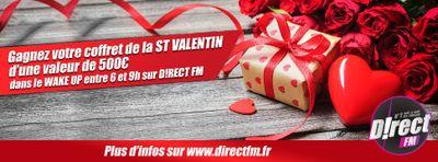 Saint-Valentin : Tentez de gagner votre coffret cadeau de 500€
