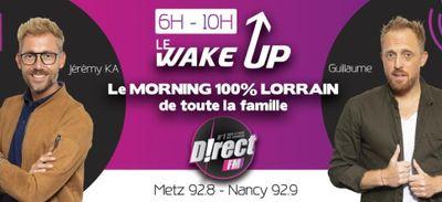 CETTE SEMAINE DANS « LE WAKE UP »