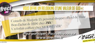 D!RECT FM vous offre un relooking complet d'une valeur de 600 € au...