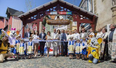 RETOUR AUX PAYS SCANDINAVES A EUROPA PARK