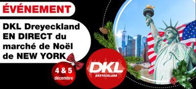 DKL Dreyeckland en direct du marché de Noël de New-York !