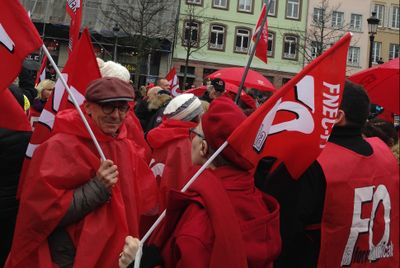 SOCIAL | Deuxième acte de la mobilisation ce mardi avec des...
