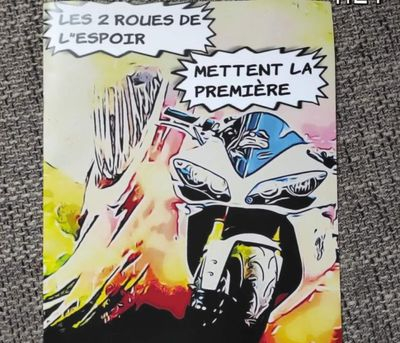 """Le bel engagement des """"2 roues de l'espoir"""" en faveur des enfants..."""