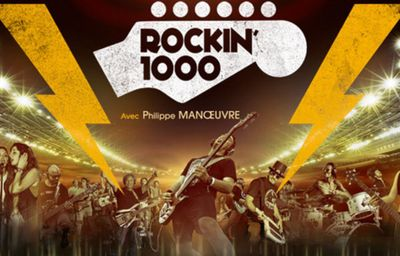 Concert Rockin'1000 au stade de France !