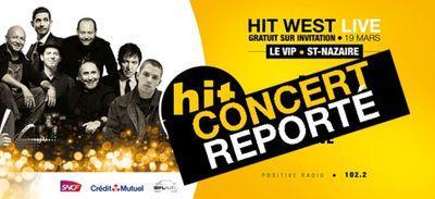 Le Hit West Live de Saint Nazaire reporté