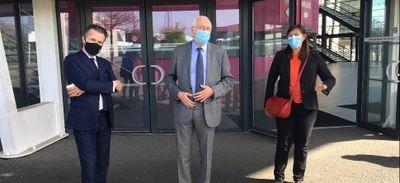 Angers : le gigacentre de vaccination ouvrira le 12 avril au parc...