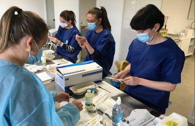 Le vaccinodrome de Nantes est ouvert à la Beaujoire