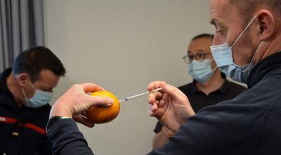 Les pompiers formés à la vaccination dans le Finistère