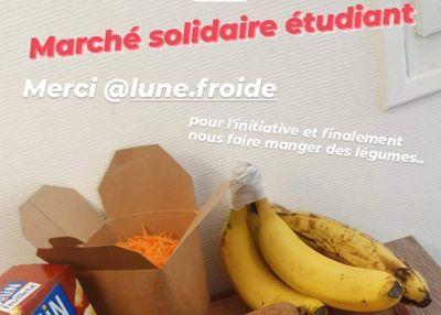 Un marché alimentaire et solidaire, à Nantes