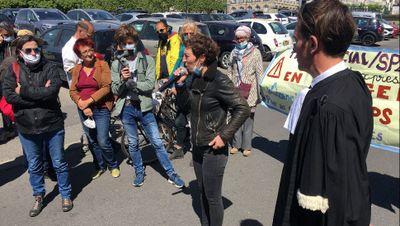 Christel licenciée à Saint Nazaire pour délit d'opinion se défend