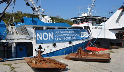 Parc éolien en baie de Saint-Brieuc : les pêcheurs mobilisés en ce...