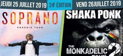 TRANSHUMANCES MUSICALES DE LAAS 2019 ! Jeudi  25/07 SOPRANO et...