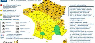Météo : Vigilance Orange pour la Côte d'Or !