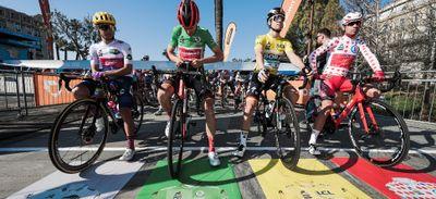 Chalon-sur-Saône au départ de la 4ème étape de Paris-Nice 2021