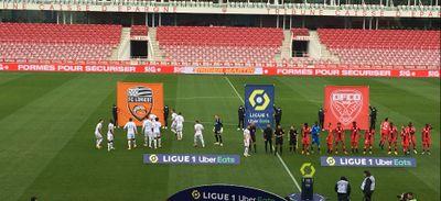 Le match Lorient - DFCO reporté pour des cas de Covid-19