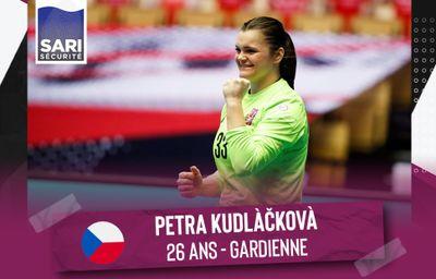 Une nouvelle gardienne internationale à la JDA Dijon Handball
