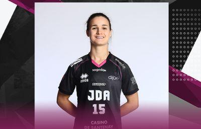 Anouck Clément (JDA Dijon handball) prolonge jusqu'en 2023 !