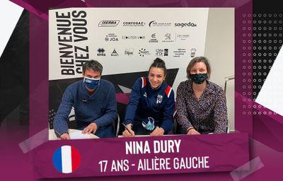 Une jeune internationale française arrive à la JDA Dijon Handball