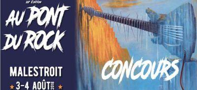 Concours de dessin 28èem édition festival AU PONT DU ROCK