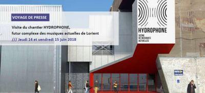 La nouvelle salle de concert de Lorient, l'Hydrophone, a recruté...