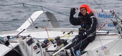 Xavier Macaire remporte la première étape de la Solitaire du Figaro