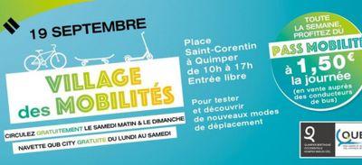 La semaine de la mobilité à Quimper (29)