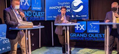 """SeaTrackBox récompensé aux trophées """"Innovation Océan"""""""