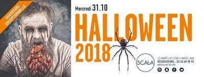 Le 31 Octobre, 2 soirées à la Scala pour Halloween !