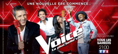 The voice : La saison 8 débutera le Samedi 9 Février sur TF1 !