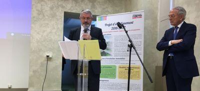 Le directeur du centre hospitalier du Haut-Anjou, Patrick Plassais,...