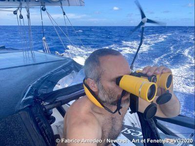 Vendée Globe : le bateau de Fabrice Amedeo est arrivé, sans lui