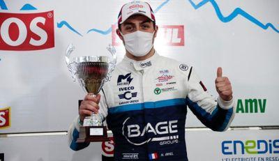 Auto. Sur glace, Natan Bihel prend la 3ème place du trophée Andros