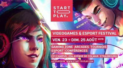 Start to Play - Festival du jeu vidéo