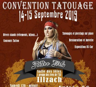 Convention Tattoo Girls