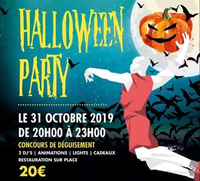 Halloween Party à Xperience Park