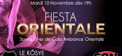 Soirée Fiesta Orientale au Kôsye avec Radio ECN