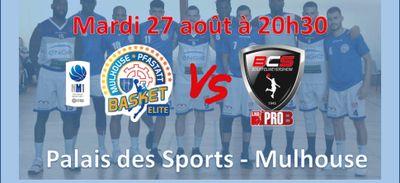 MPB Elite : match de prépa mardi contre SOUFFELWEYERSHEIM (Pro B)