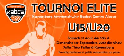 TOURNOI ELITE U15/U20 du KABCA avec Radio ECN