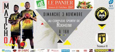 Handball : ASPTT Mulhouse Rixheim - Tremblay II le 3 novembre !